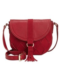 Inc International Concepts Ella Saddle Bag Only At Macy's Wine