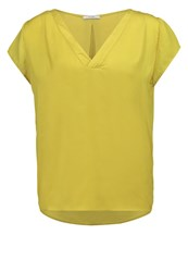 Kiomi Blouse Lime Dark Yellow