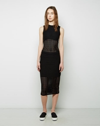 Alexander Wang Circular Hole Midi Skirt Black