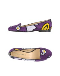 You Khanga Footwear Moccasins Women Purple