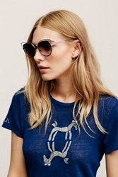 Free People Womens Florence Wire Frame Sunni