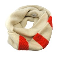 Hcr Arrows Loop Scarf Red