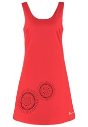 Desigual Barceloneta Summer Dress Fresa Red