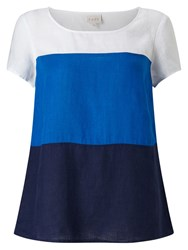 East Colour Block Top Ink