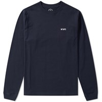 Wtaps Long Sleeve Worker Tee Blue