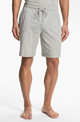 Daniel Buchler Peruvian Pima Cotton Shorts Grey Heather