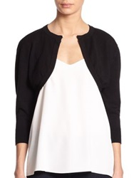 Harrison Morgan Knit Bolero Jacket Black