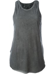 Lost And Found Ria Dunn Back Rib Tank Top Grey
