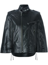 Diesel Black Gold Wide Sleeve Zipped Jacket Black