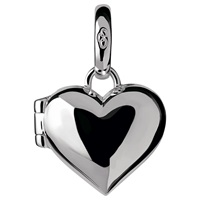 Links Of London Sterling Silver Heart Locket Charm Silver