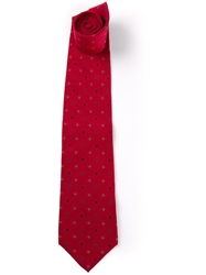 Gianfranco Ferre Vintage Patterned Tie Red