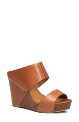 Women's Trask 'Riki' Wedge Sandal Saddle Tan