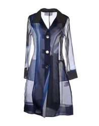 Gattinoni Full Length Jackets Blue