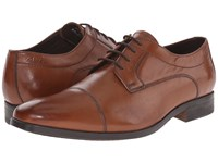 Clarks Banfield Cap Tan Leather Men's Lace Up Cap Toe Shoes