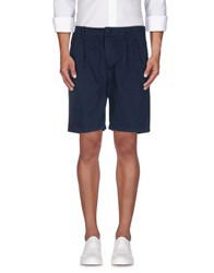 Aspesi Trousers Bermuda Shorts Men Dark Blue