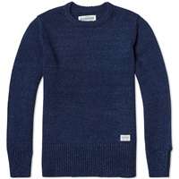 Neighborhood Fisherman Crew Knit Indigo