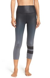 Alo Yoga Women's 'Airbrush' High Waist Capris