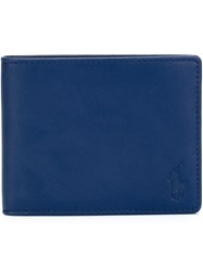 Polo Ralph Lauren Foldover Wallet Blue