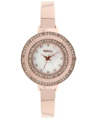 Styleandco. Style And Co. Women's Rose Gold Tone Bracelet Watch 35Mm Sy006rg Only At Macy's