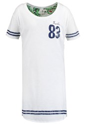 Franklin And Marshall Jersey Dress White