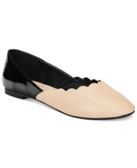 Wanted Kristy Colorblock Flats Women's Shoes Nude