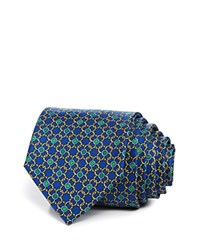 Bloomingdale's The Men's Store At Circle Link Classic Tie Blue Green