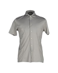 Gran Sasso Shirts Shirts Men Grey