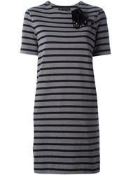 Marc By Marc Jacobs Striped Short Sleeve Dress