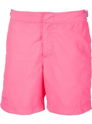 Orlebar Brown Swim Shorts Pink And Purple