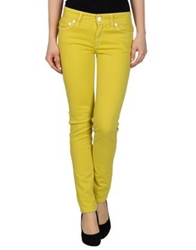 Nolita De Nimes Denim Pants Acid Green