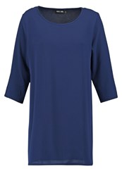 Only Onllea Tunic Dark Navy Dark Blue