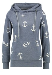 Only Onllisa Hoodie Stormy Weather Blue Grey