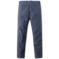 Incotex Tapered Birdseye Dot Chino Blue