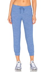 Beyond Yoga Cloud Heather Relaxed Sweatpant Blue