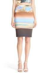 Women's Clover Canyon 'Floral Whisper' Pencil Skirt