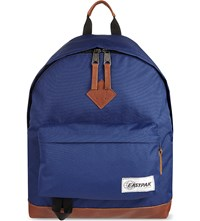 Eastpak Wyoming Backpack Into Tan Navy