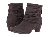 Vicenza Earthies Slate Suede Women's Boots Gray