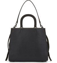 Coach Rogue Glovetanned Pebble Leather 36 Satchel Bp Black