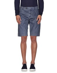 Maison Clochard Denim Denim Bermudas Men Blue