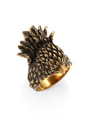 Gucci Bird Ring Antique Gold