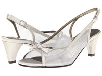 David Tate Prom Silver Women's Sling Back Shoes