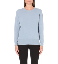 American Vintage Syca Wool And Cashmere Blend Jumper Thunderstorm
