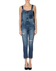 Two Women In The World Dungarees Trouser Dungarees Women Blue