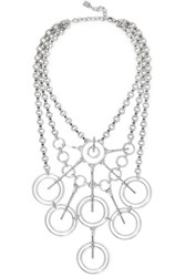 Dannijo Aquila Oxidized Silver Plated Necklace