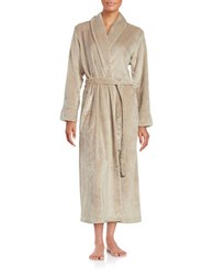 Miss Elaine Shawl Collar Robe Bisque