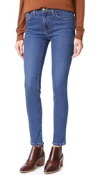 Current Elliott High Waist Ankle Skinny Jeans Ditch