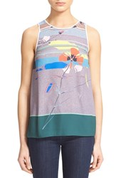 Women's Clover Canyon 'Coastal Currents' Print Shell