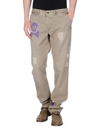 Incotex Red Casual Pants Military Green