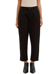 Kowtow Westbound Cropped Twill Pants Black