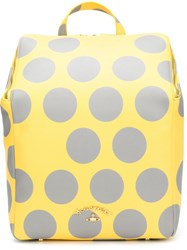 Vivienne Westwood 'Polkamania' Backpack Yellow And Orange